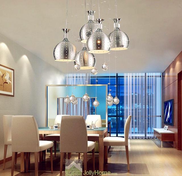 Creative Pendant Light Five Lights Bar Counter
