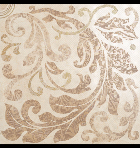 Acanto by dune 24x24 decorative porcelain floor tile traditional tile - Decorative bathroom tiles ...