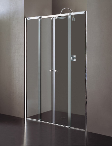 SC2 DOUBLE SLIDING DOOR FOR RECESS modern-showerheads-and-body-sprays