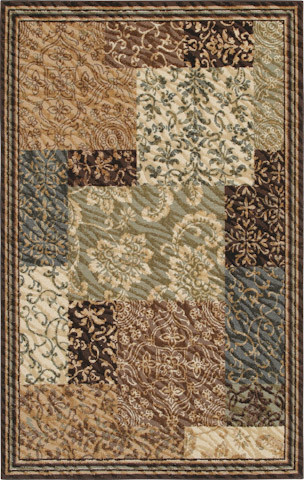 Stella Rug in Light Multi traditional-rugs