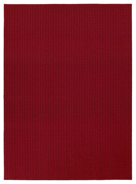 Westlake Royal Red Area Rug (5' x 7') contemporary-rugs