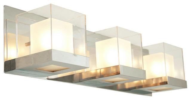 Simple Metro Vanity Light  Contemporary  Bathroom Vanity Lighting  By