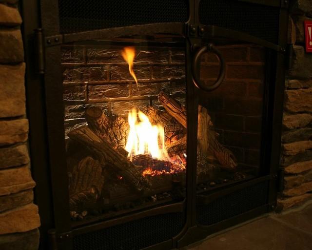 fireplace xtrordinair 864 gas fireplace with stone facia