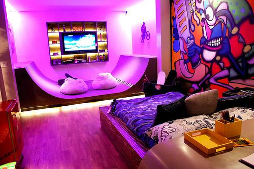 Skateboard Teen Room