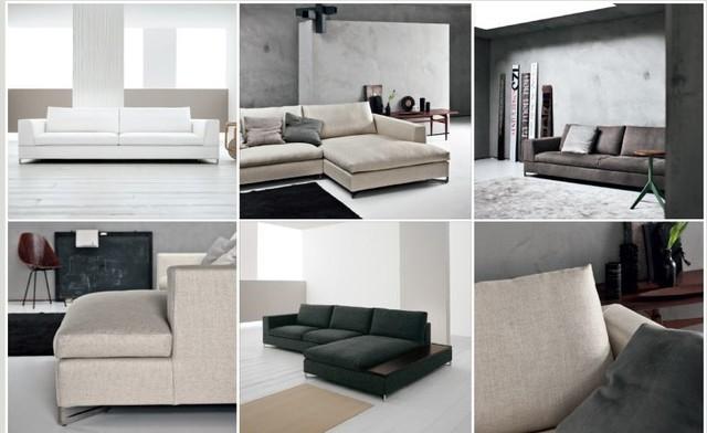 Saba Italia and Euro Khrome contemporary-sofas