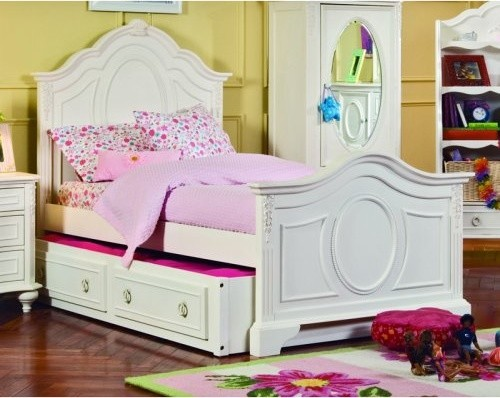 Enchantment Panel Bed Collection traditional-kids-beds