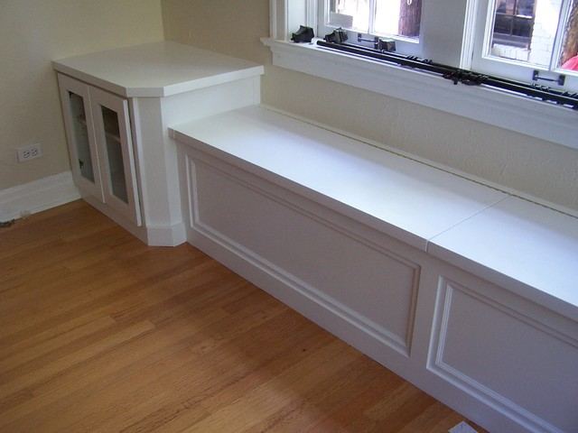 Watch more like Window Seat With Cabinets