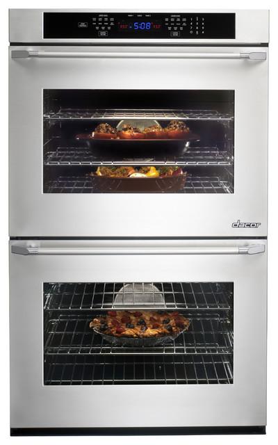 "Renaissance 30"" Double Wall Oven modern"