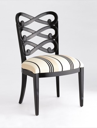 Jan Showers Loop Dining Chair traditional-dining-chairs
