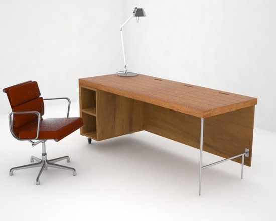 Home Office Furniture - Simple forms are combined with an authentic expression of materials.