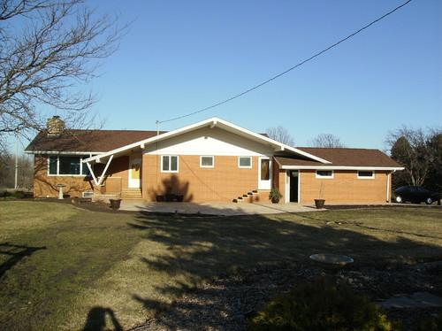 Exterior Help Trim Color For Orange Brick House