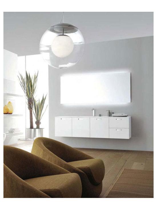 Materia by Antonio Lupi - MATERIA system of bathroom furniture by Antonio Lupi.