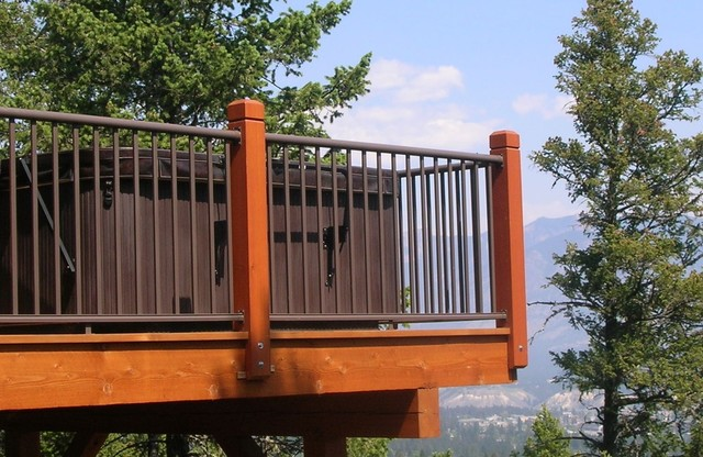 Century Aluminum Deck Railing Modern Outdoor Products