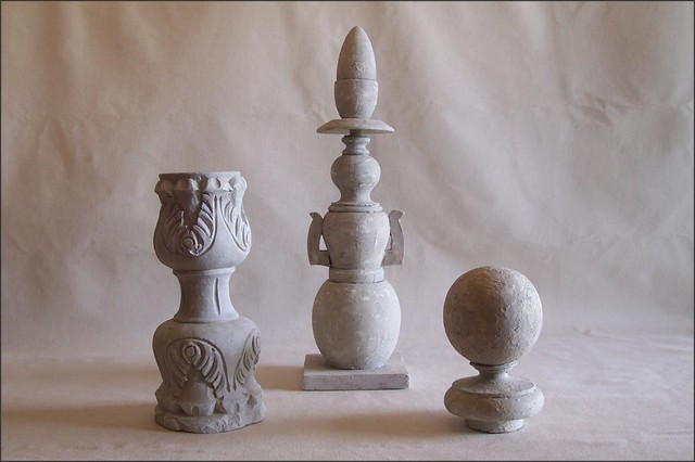 Pedestal, Pillar, Orb, Finial eclectic-home-decor