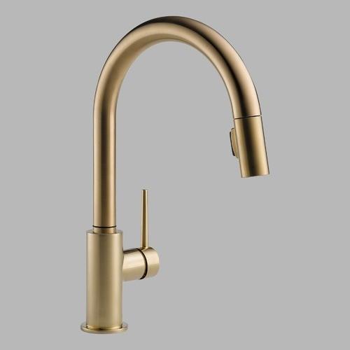 Trinsic Single Handle Single Hole Kitchen Faucet Modern Kitchen Faucets
