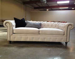 KENZIE STYLE ( aka NELLIE) - Chesterfield Sofa or Sectional traditional-sofas