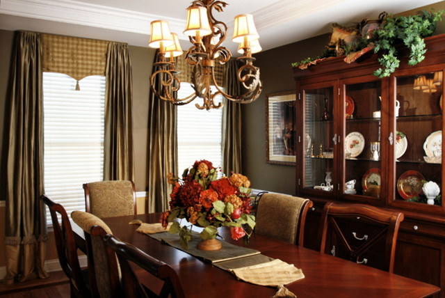 Transformation Family Home-Dining Room traditional-dining-room
