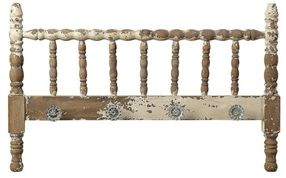 Marguerite Headboard with Knobs traditional-headboards