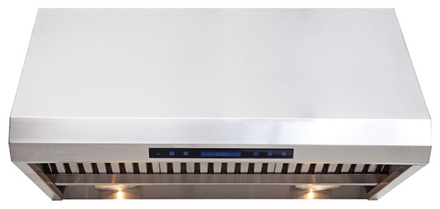 "Cavaliere-Euro AP238-PS85-30 30"" Under Cabinet Range Hood contemporary-range-hoods-and-vents"