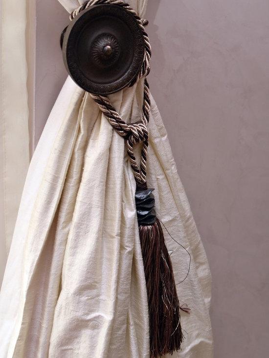 1 Trasacco - Silk Curtains & Horchow Holdback