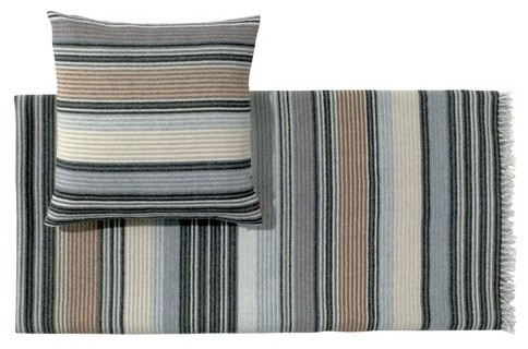 Erode Gray Throw | Missoni Home modern-bedding