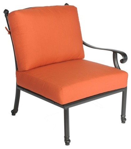 Meadow Decor Kingston Right Arm Chair contemporary-outdoor-chairs
