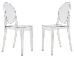 Modern Furnitures- Starck Ghost Chair modern chairs