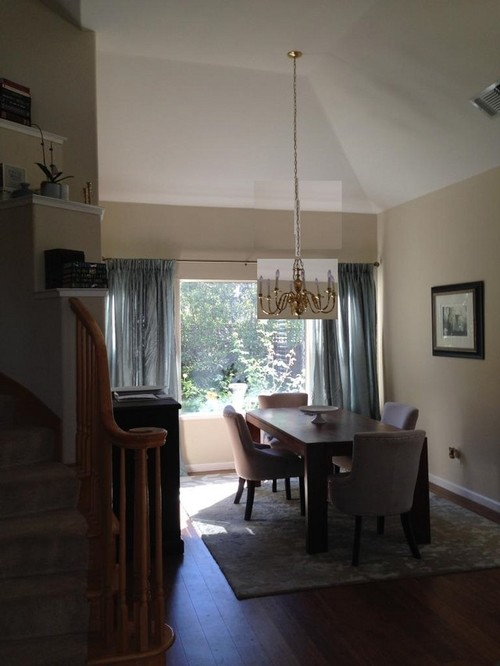 Chandelier Size Ideas For Dining Room W High Ceilings