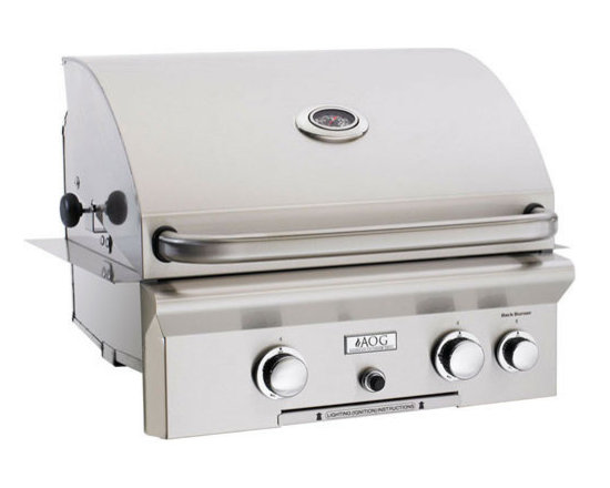 """24"""" Built-In American Outdoor Grill - AOG 24 Inch Outdoor Built-In Gas Grill"""