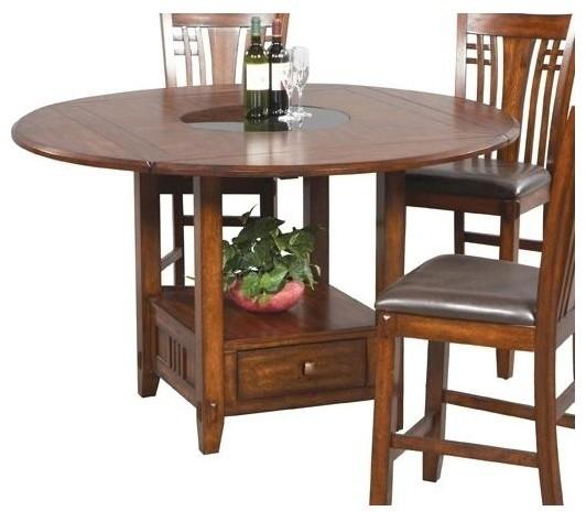 Zahara Round Dining Table w Drop Leaf Contemporary  : contemporary dining tables from www.houzz.com size 532 x 474 jpeg 51kB