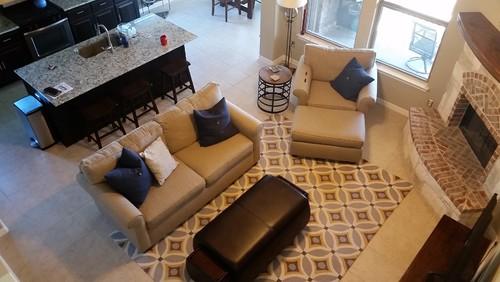 new rug ideas for open floor plan any decor ideas