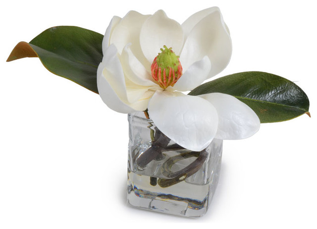 Magnolia Flower - Traditional - Artificial Flower Arrangements - by New Growth Designs