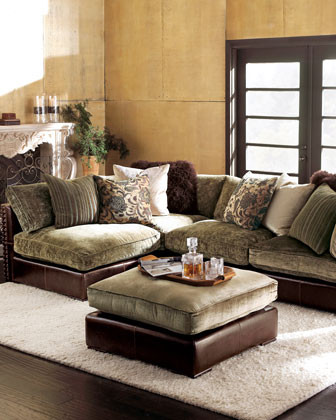 Sectional Corner Unit traditional sectional sofas