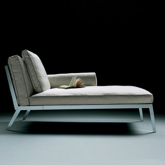 Flexform happy chaise longue modern indoor chaise for Chaise longue flexform