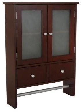 wall cabinet in dark brown contemporary bathroom vanities and sink