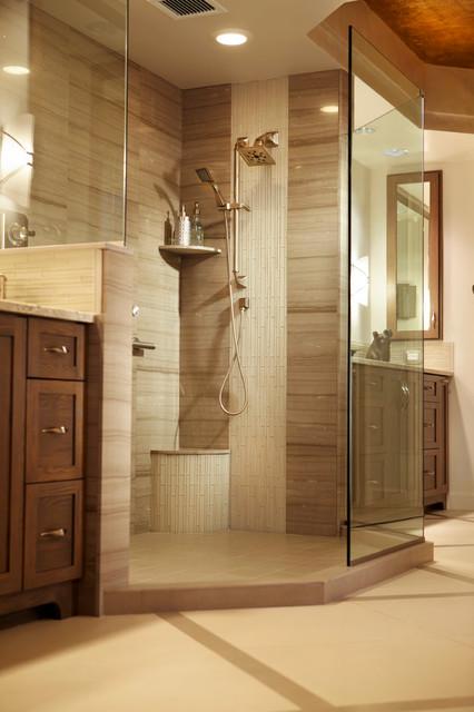 Elegant Master Bath Retreat Contemporary Bathroom