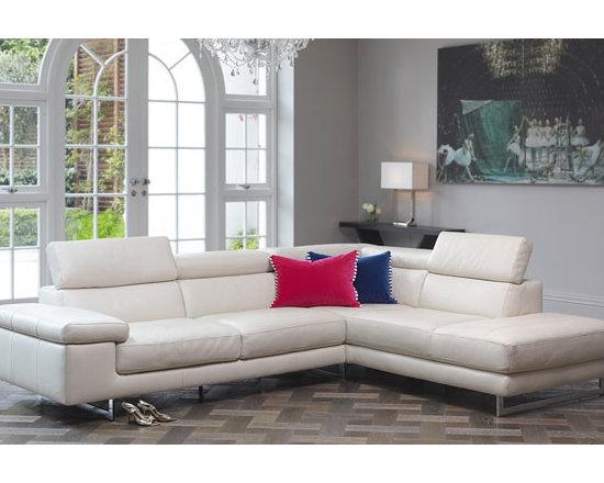 Milano Leather Corner Sofa -