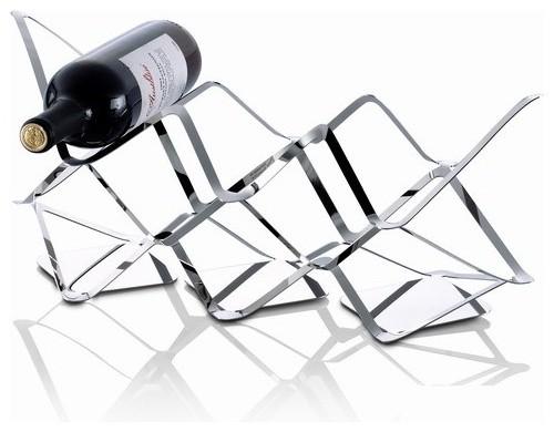 Stainless Steel Home Wares Lisette 39 Wine Rack Modern