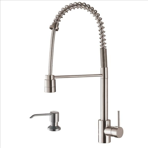 Ruvati RVF1210K1ST Faucet with Soap Dispsenser traditional-kitchen-faucets