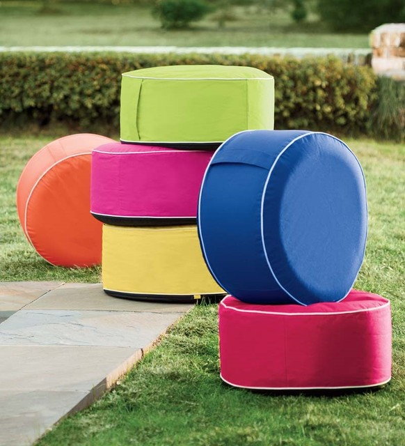 Inflatable Lawn Furniture: Inflatable Outdoor Ottoman
