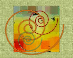 Patchwork I by Ben and Raisa Gertsberg - canvas art, art print, giclee modern-artwork