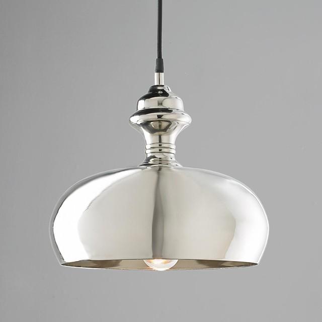 Silver Onion Dome Pendant Light Pendant Lighting By