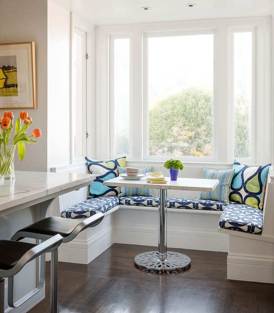 Pacific Heights contemporary-kitchen
