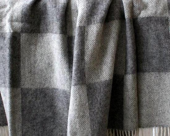 Ribe Scandinavian Wool Throw -