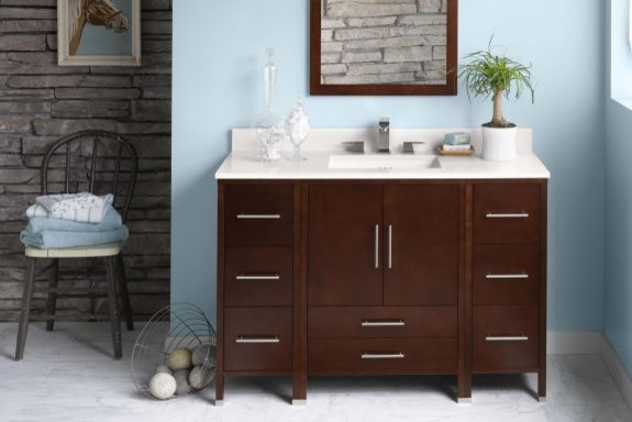 Bathroom Vanity Cabinets: Juno contemporary bathroom vanities and sink consoles