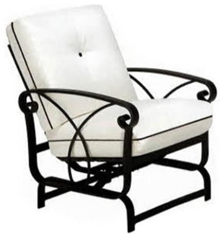 Winston Palazzo Cushion Spring Base Rocker Lounge Chair