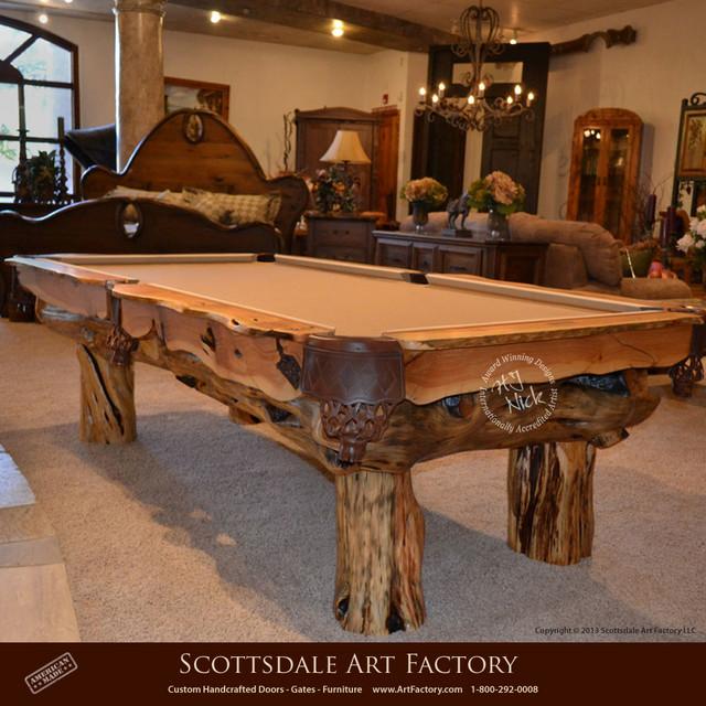 Pool Tables Custom Designs Rustic Furniture Phoenix