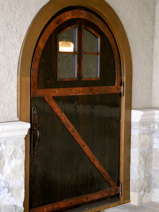 Door with Steel Strapping -