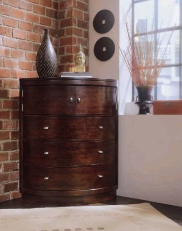 Corner Chest Tribecca Traditional Dressers Chests And Bedroom Armoires