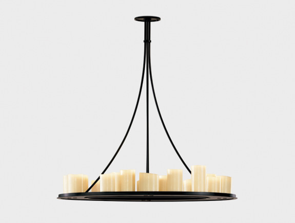 Hemel Ring by Kevin Reilly for Holly Hunt contemporary-chandeliers